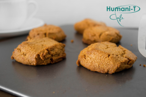 Spiced ginger tea cookies humanitea.com