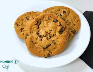 Chocolate Chip Coffee Cookies Humanitea.com
