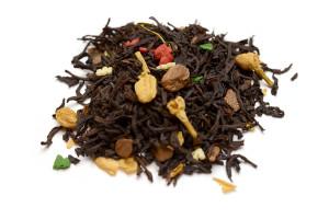 Christmas Blend black tea at Humani-T Cafe, Halifax NS