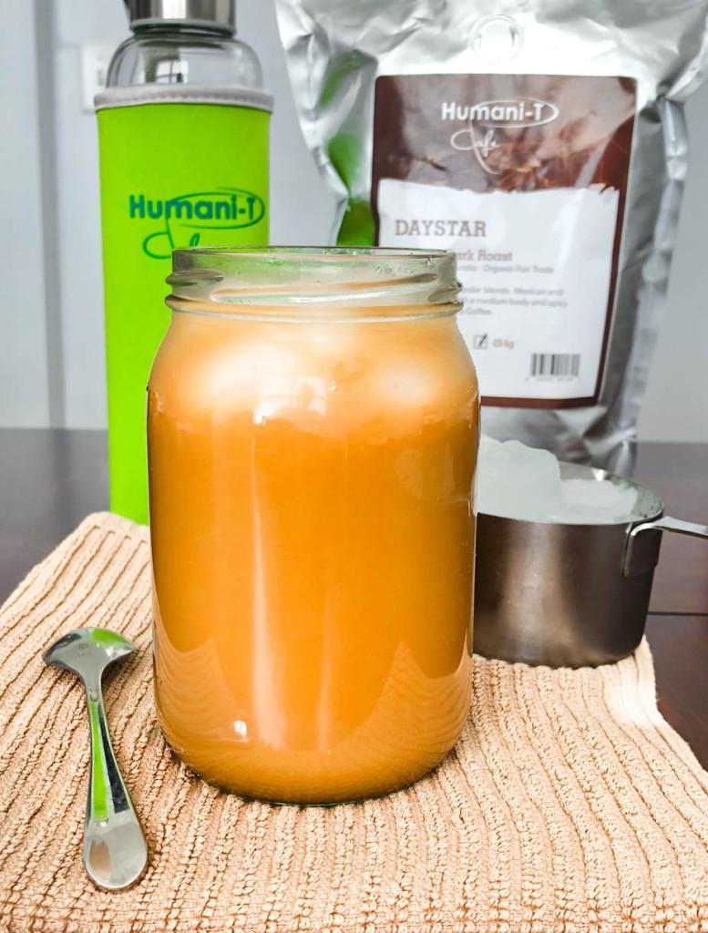 Vanilla Mocha Iced Coffee Humanitea.com