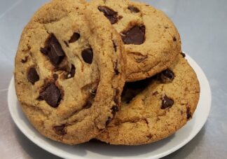 Chocolate Chunk Cookies - Authentically & Chocolaty delicious, with only plant ingredients