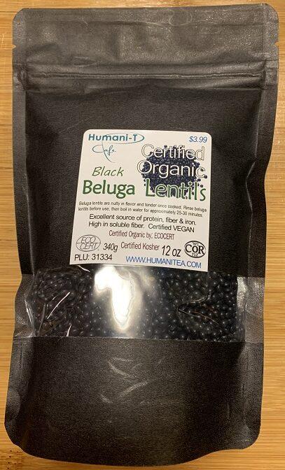 Black Beluga Lentils